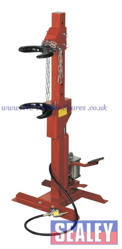 Coil Spring Compressing Station - Air/Hydraulic 1500kg Capacity